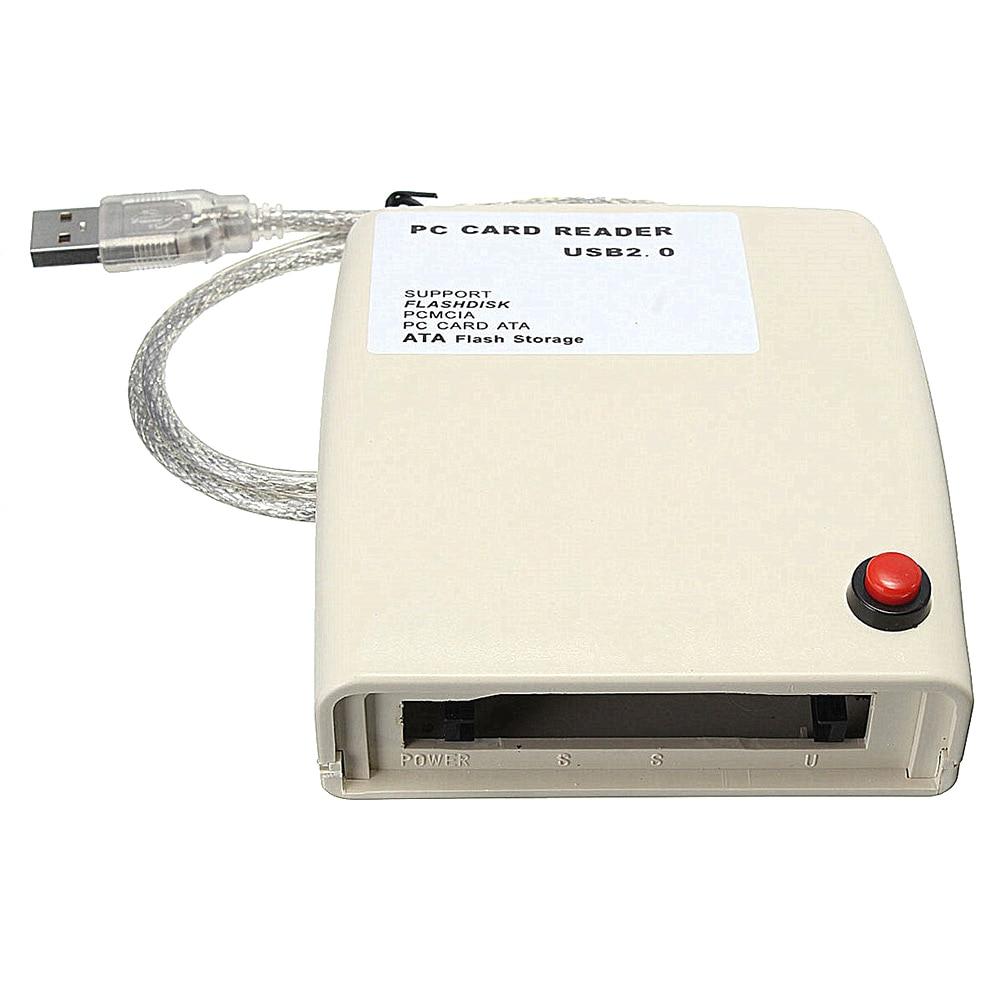 USB 2,0 a 68 pines ATA PCMCIA Flash Disk tarjeta de memoria lector Adaptador convertidor PR venta