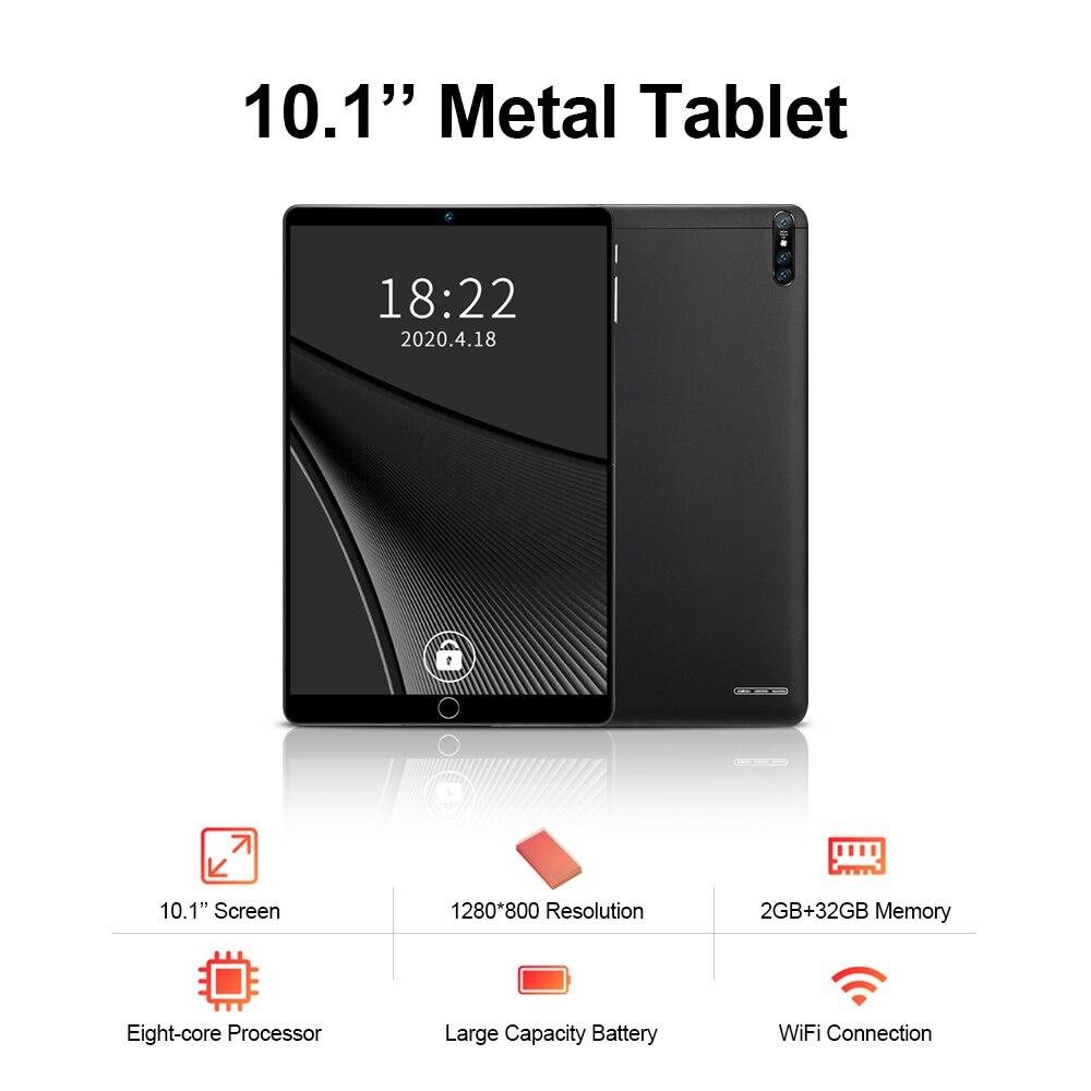 Novo tablet pc. 10.1 polegadas, android 5.1, mt6592 a7, processador 8-core, memória de 2gb + 32gb, suporte de bt4.0 e wifi