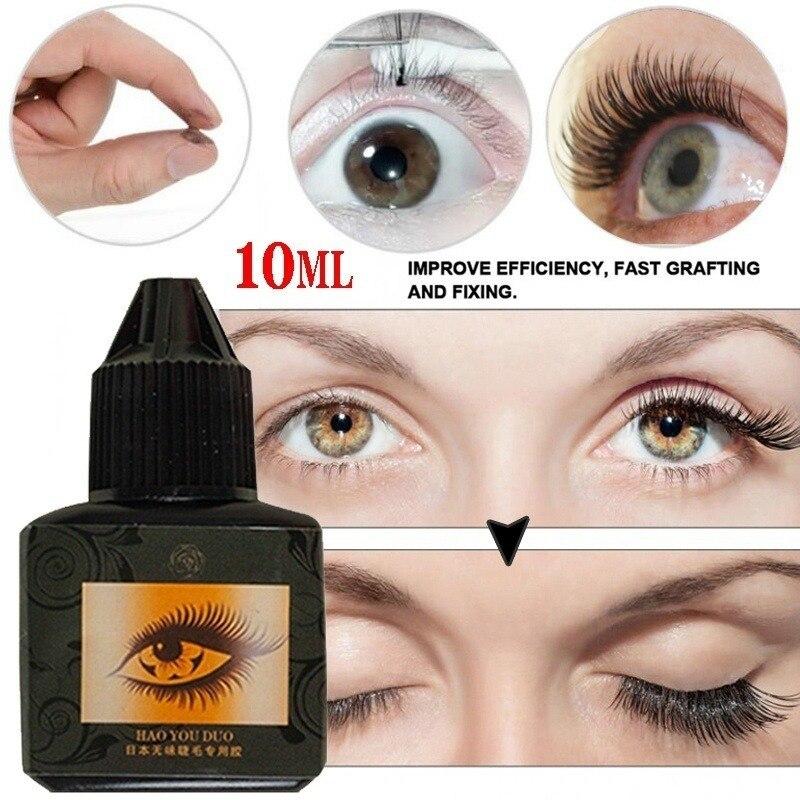10ML Individual Eyelashes Extension Grafting Glue Long-lasting Nature Fast Drying Adhesive False Eye Lashes Makeup Tool недорого