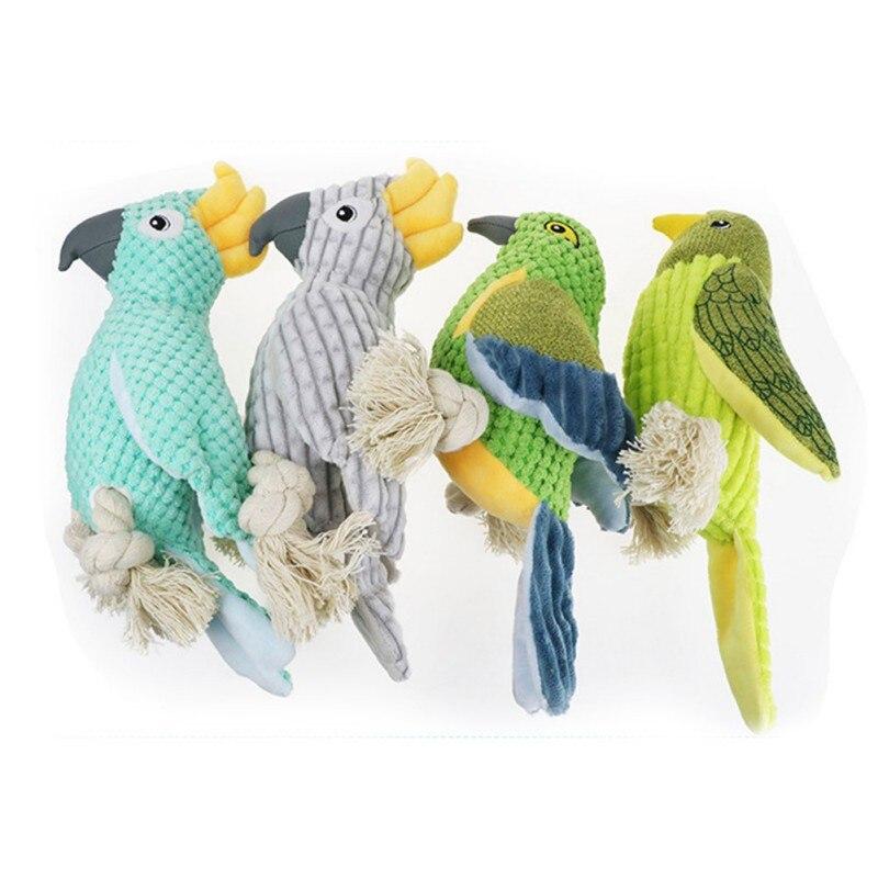1 juguete Vocal de policarbonato para perros mordedores juguete Vocal paloma de la paz juguetes para perros con sonido mordedor juguete Molar mordedor