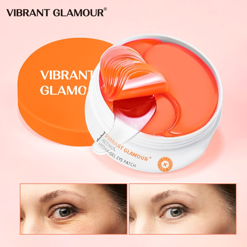 Rétinol HYDRA-GEL PATCH yeux Anti-âge masque yeux soin 60 pièces hydratant cernes yeux sacs supprimer Anti-rides masque yeux soin
