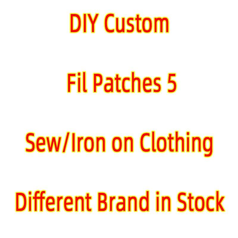 Полоски на одежде брендовые нашивки «сделай сам», брендовые нашивки для курток, вышивка, альтернативная одежда, наклейки, значки, аппликаци...
