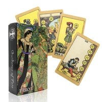 divination the goddess oracle cards read fate board game oracle playing card games deck for party personal entertainment