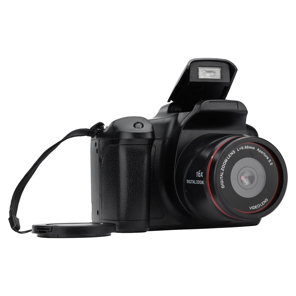 Videocámara Full HD 720P cámara Digital de mano 16MP Zoom máx. 2,4 pulgadas LCD 6 millones de píxeles Zoom Digital 16x 2,4 pulgadas TFT