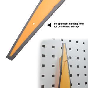 Image 5 - Скребок EHDIS для автомобильного окна, тряпка из углеродного волокна, виниловый скребок для удаления снега на лобовом стекле, инструмент для тонирования и мытья