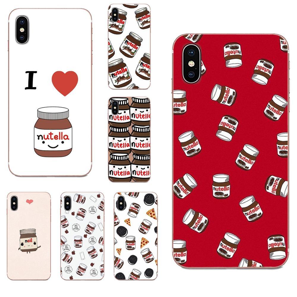 Cute Tumblr Nutella Design For Huawei Honor Mate 7 7A 8 9 10 20 V8 V9 V10 V30 P40 G Lite Play Mini Pro P Smart Phone Skin Case