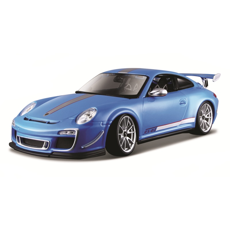 Bburago 1:18 Scale Porsche 911 GT3 RS 4.0  Alloy Luxury Vehicle Diecast  Cars Model Toy Collection Gift alloy model gift 1 50 scale scania a90 city wide transit bus vehicle diecast toy model for collection decoration