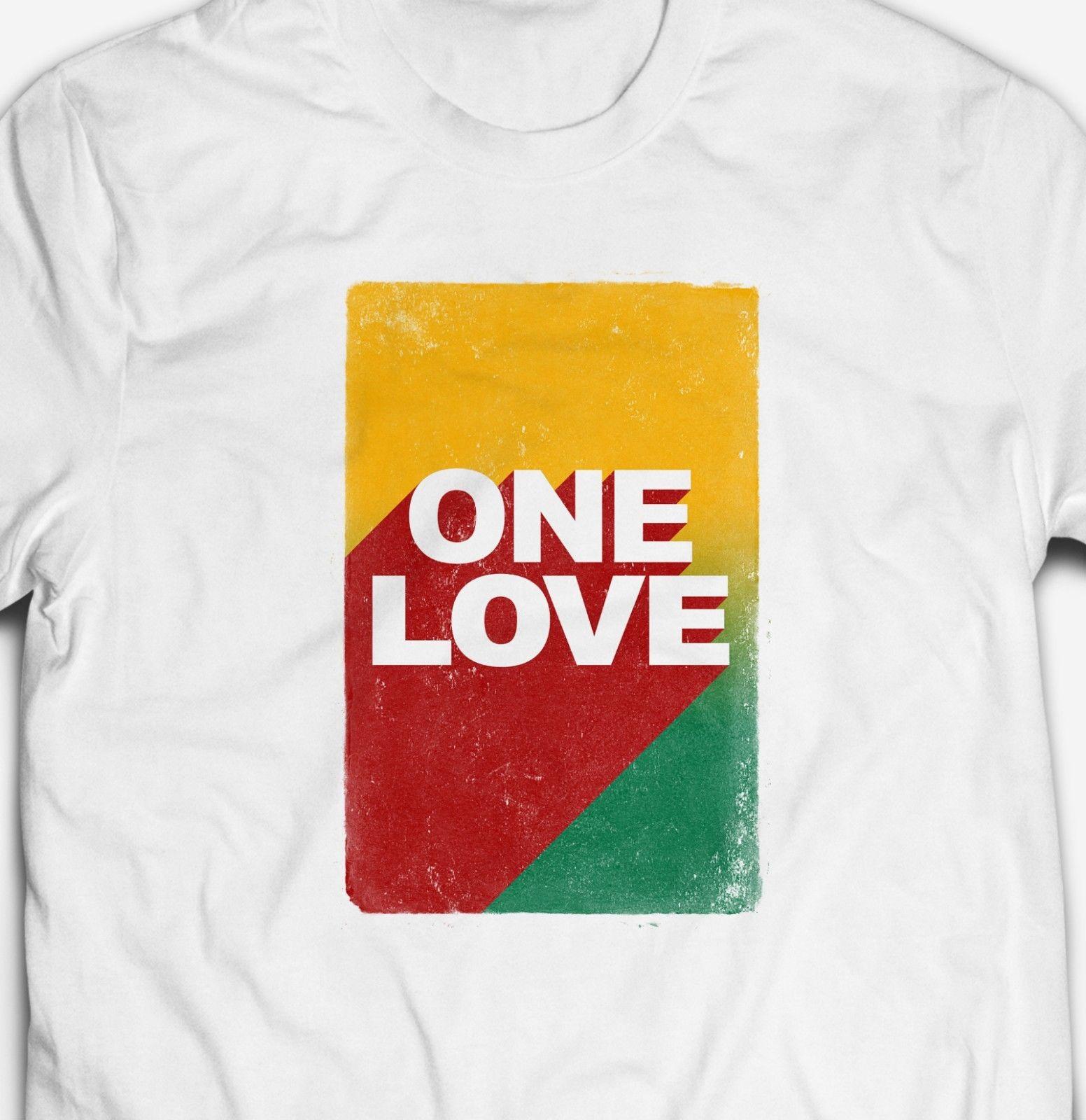 Camiseta para hombre de algodón con 100% de música DUB de jamaiquino un amor REGGAE RASTA de jamaiquina
