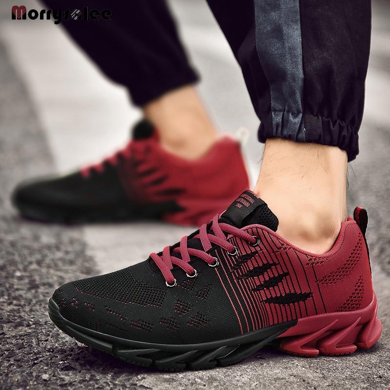 2020  Four Seasons Classic Comfortable Men Shoes Men Lace-up Sneakers Men's Breathable Sneakers Cheap Shoes Men's Shoes