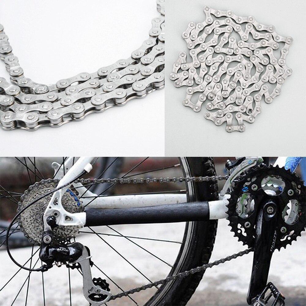 Accesorios de bicicleta cadena de bicicleta 6-7-8 velocidad 116 enlaces para MTB...