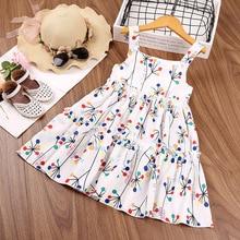 kids clothes 2021 summer new children's clothing Sleeveless letter flower lace princess dress flower