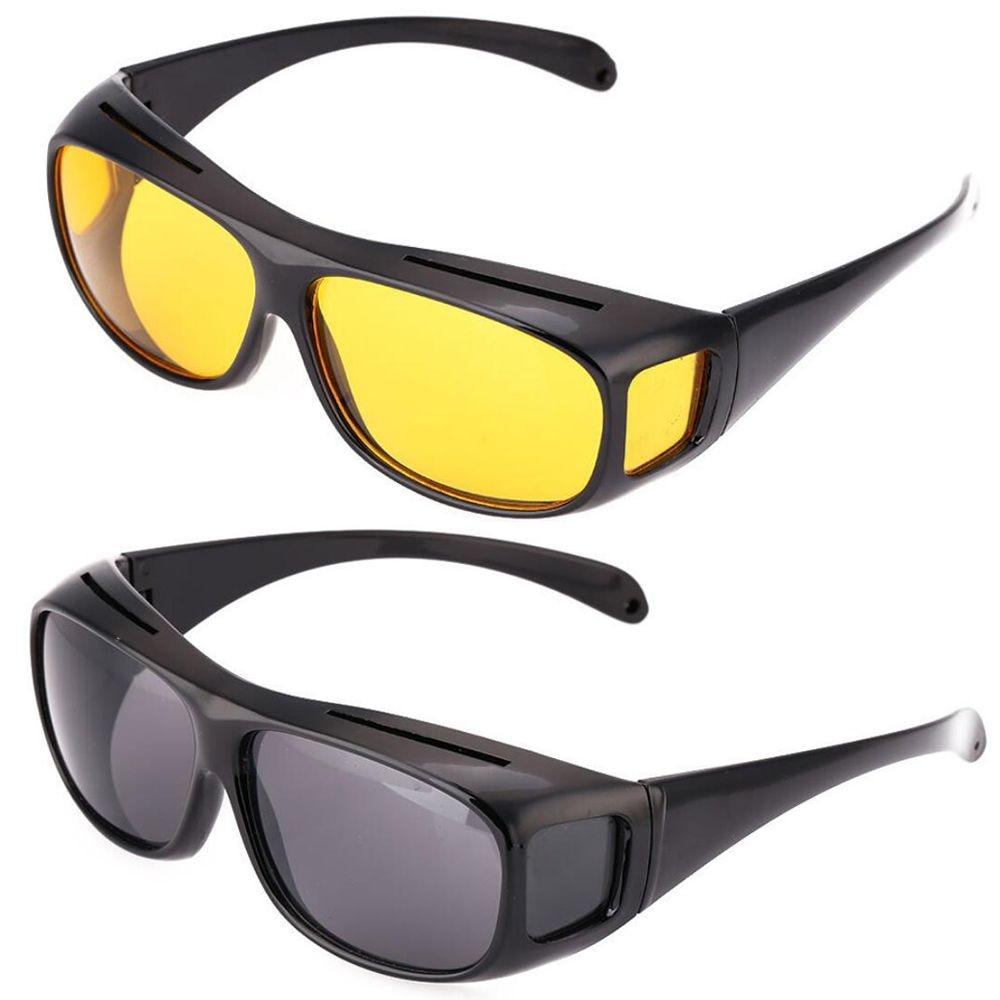 Car Night Vision Sunglasses Night Driving Glasses Driver Goggles Uni Sun Glasses UV Protection Sunglasses Eyewear