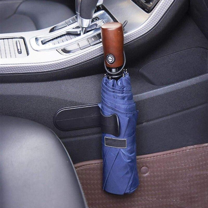 Gancho para paraguas de coche, gancho pequeño multifunción para Audi A1, A2, A3, A4, A5, A6, A7, A8, C5, C6, Q2, Q3, Q5, Q7, R8