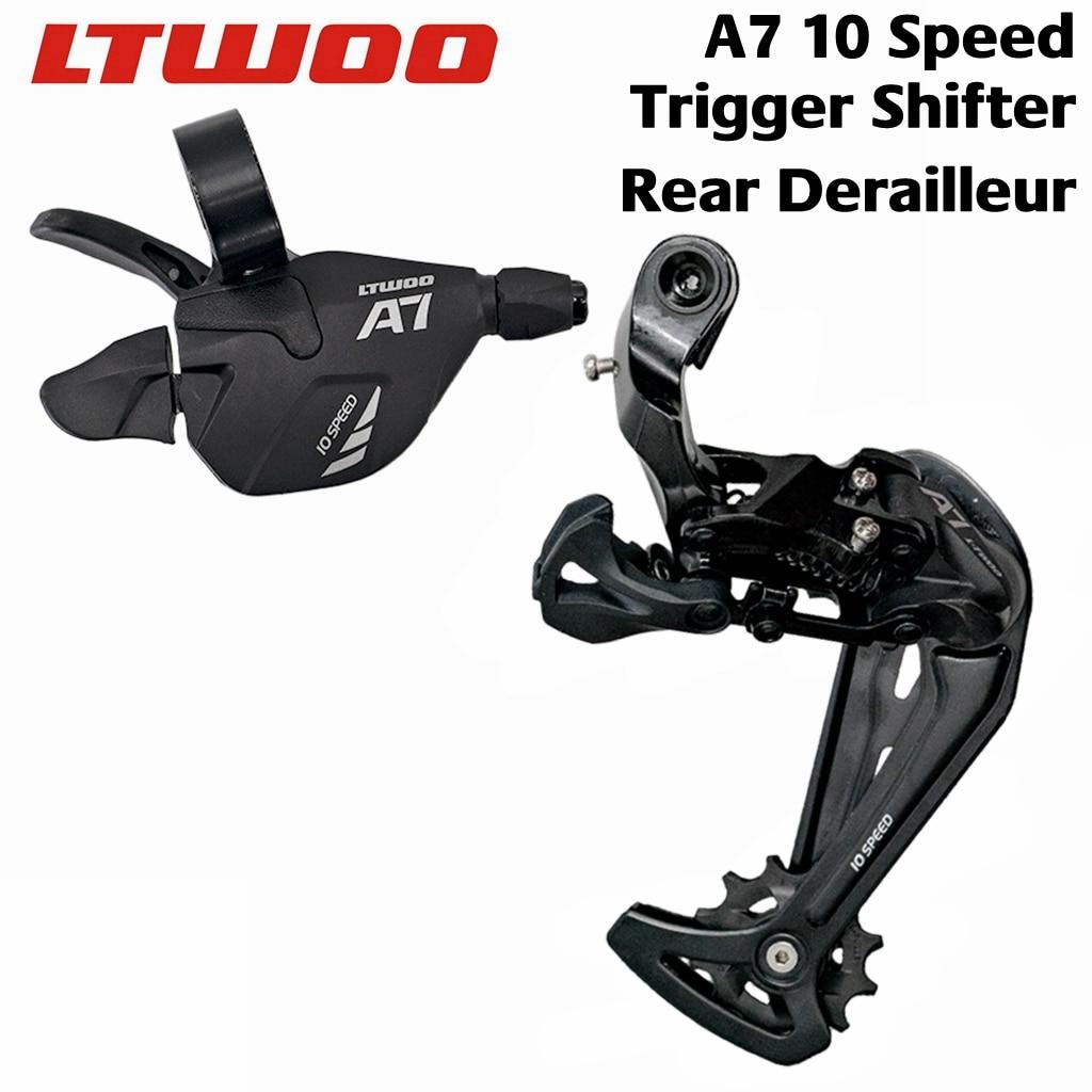 Ltwoo a7 1x10 velocidade de liberação da alavanca do deslocamento de engrenagem +, 10s para mtb compatível com deore