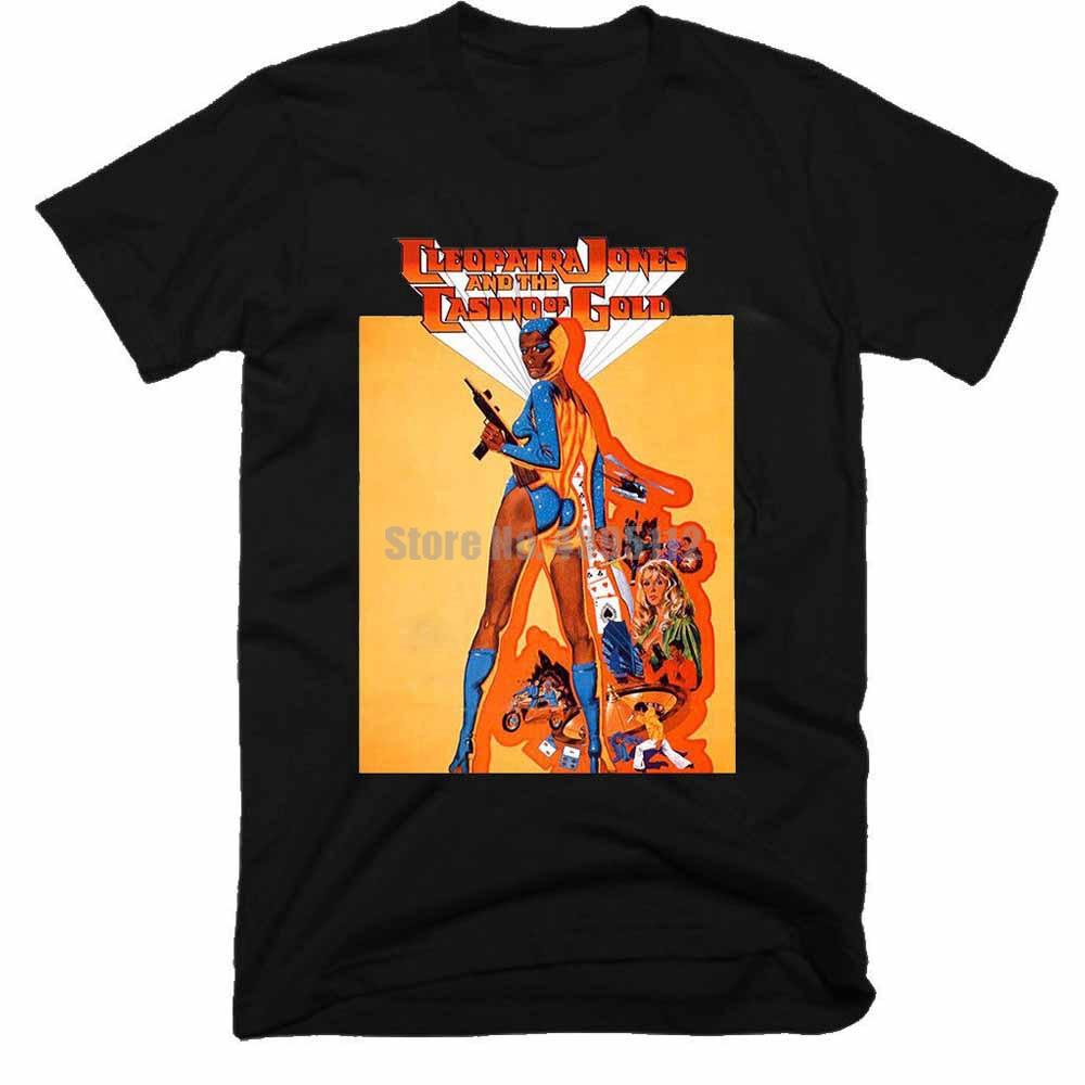 Cleopatra Jones y el Casino de oro hombre carnaval camisas gótico camisetas camisa de gimnasio camisetas hardcore regalo para un hombre Irwcae