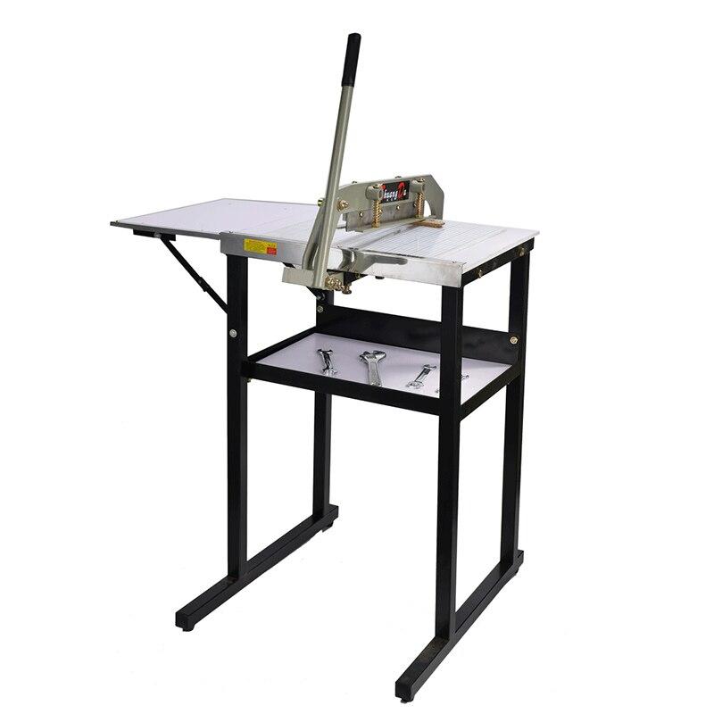 40 سنتيمتر القماش آلة قطع حافة قطع آلة قطع القماش آلة النسيج القماش والجلود عينة القماش ورقة قطع آلة l