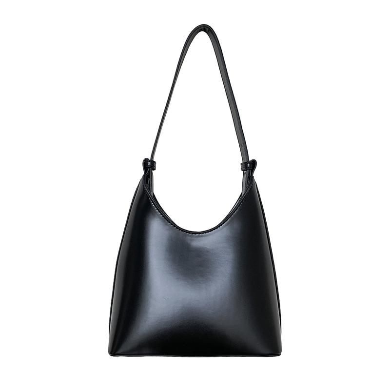 Handbag shoulder fashion bag hand-carried bag  bucket bag leather high-end  large capacity  tote  te