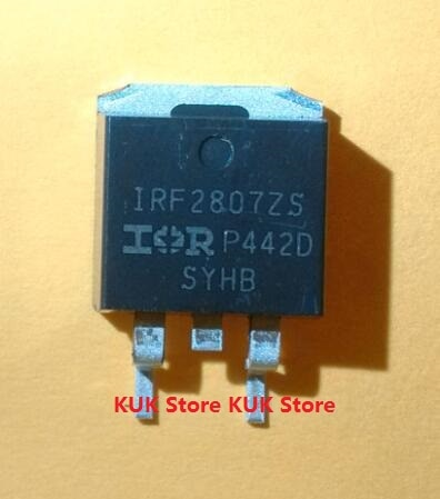 Original 100% nuevo IRF2807ZS F2807ZS IRF2807 D2PAK 10 unids/lote