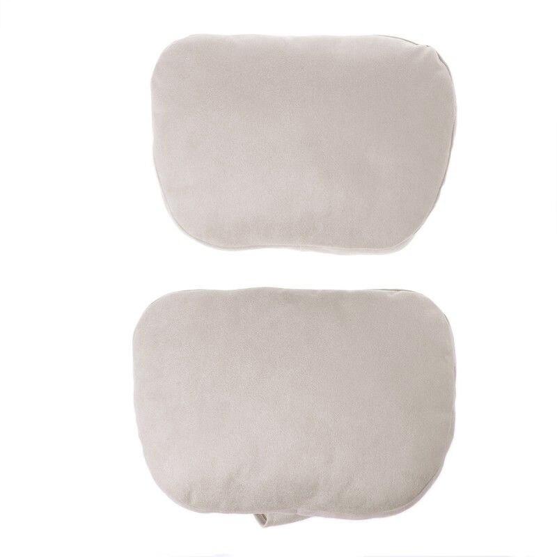 Пара универсальных Автомобильных Подушек для шеи, S класс, Ультрамягкая Подушка, автомобильное сиденье, подушка для шеи, кресло