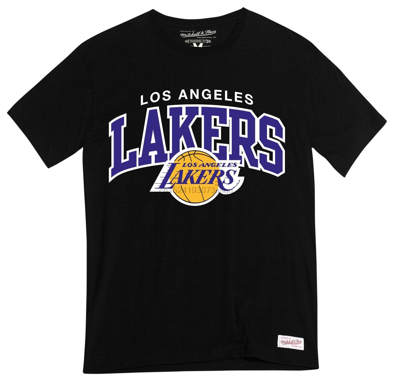 Mitchell Ness Hemd HWC Arch LA Lakers Schwarz