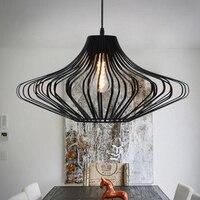Black loft Pendant Lights nordic retro Industrial lighting Edison Lamps vintage light industrie hanglampen Fixtures Luminaire