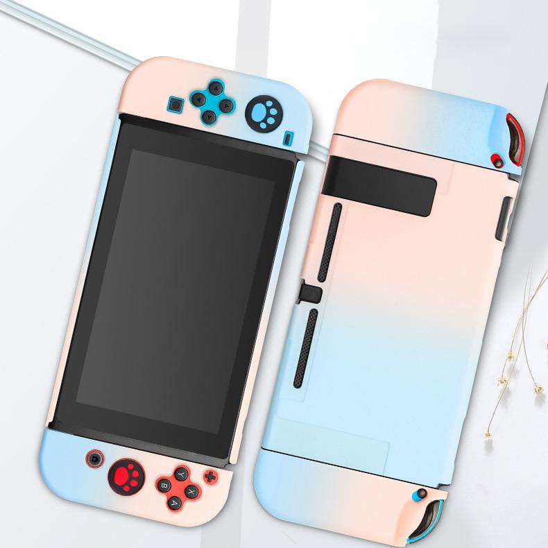 Combo brillante duro PC funda protectora para Nintendo Switch NS Joy-Con carcasa Nintendo Switch consola desmontable Ultra delgado Coque