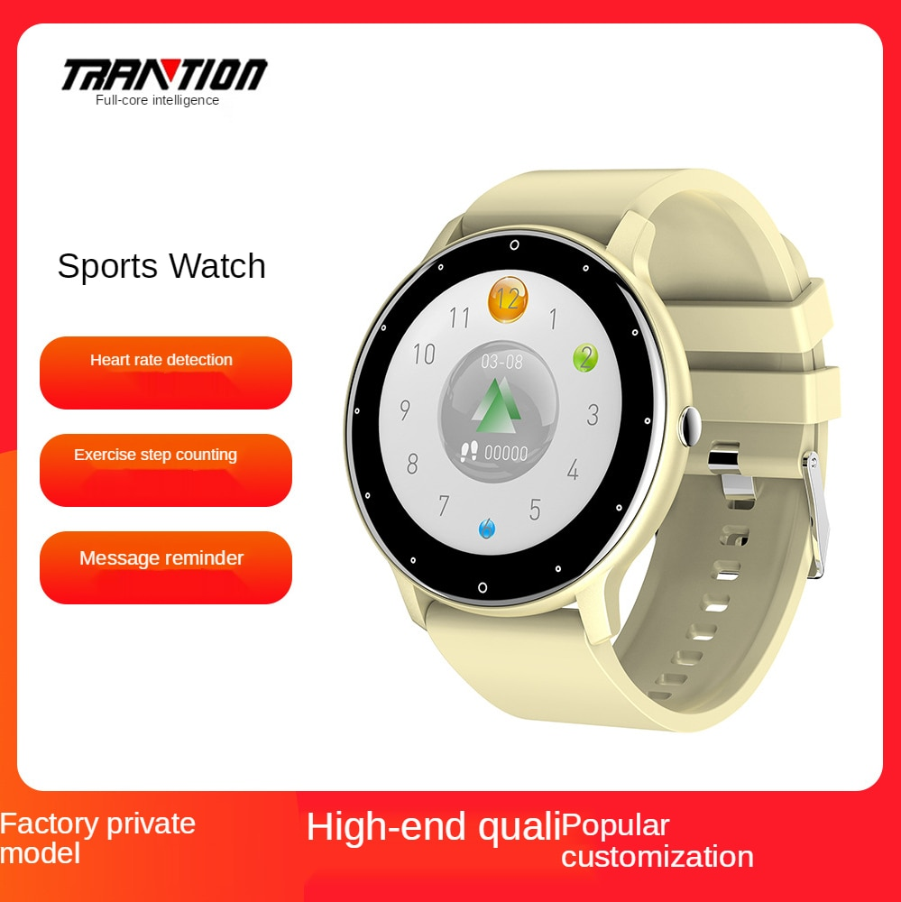 The new ultra-thin color screen waterproof fashion smart watch bracelet health exercise monitoring multi-function Bluetooth K9