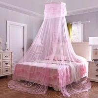 d2 mosquito net summer elgant hung dome net for double bed summer polyester mesh fabric home bedroom baby adults hanging decor