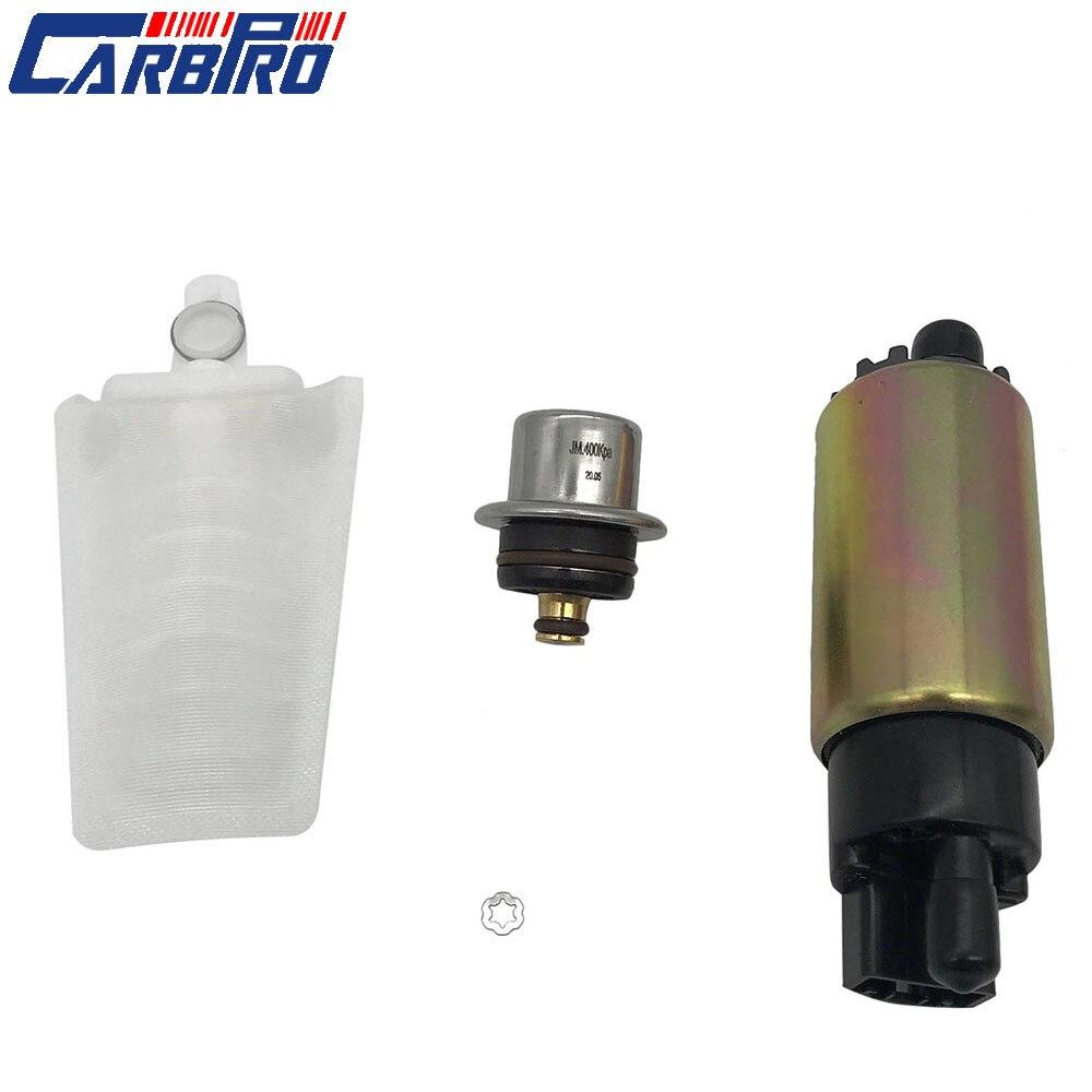 Bomba de combustível para polaris ranger 2006-2010 500 700 800 w/regulador 43psi & filtro