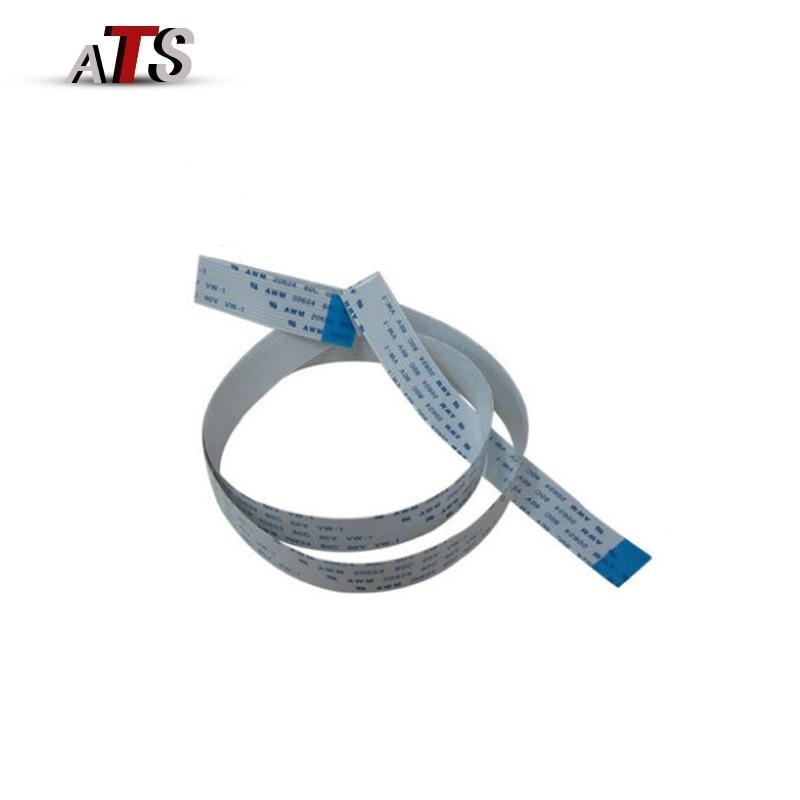 10 Set/lot (2 unids/set) cable Scan Cable Línea 12 pines para Brother 7340 7420 7030 7040 7450 7360 Compatible impresora piezas de repuesto