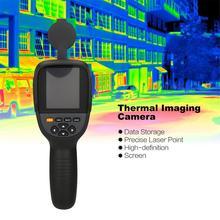 HT-19 de température infrarouge dappareil-photo de détecteur dimageur thermique numérique tenu dans la main dir avec le HT-02 de stockage HT-02D HT-175