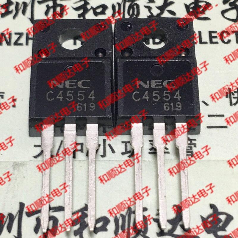 10pcs / lot 2SC4554 C4554 TO-220F new spot