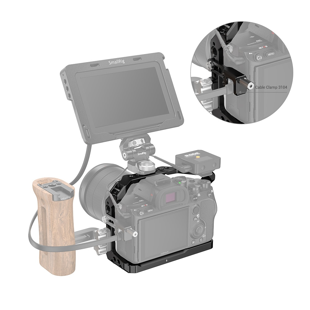 SmallRig Light Camera Cage Side Handle for Sony A7R IV A9 II DIY Accessories KIT Sony Accessories 2917 enlarge
