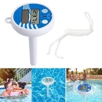 digital thermometer floating swimming pool portable hot tub abs gauge pond accurate floating water temperature water temperature