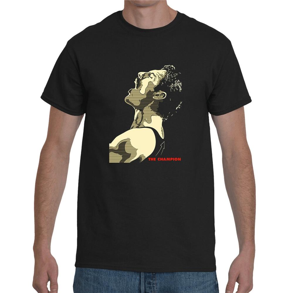Camiseta Freddie Mercury Queen Rock Pop Legend Unisex Bohemian Rhapsody 0055 divertida camiseta