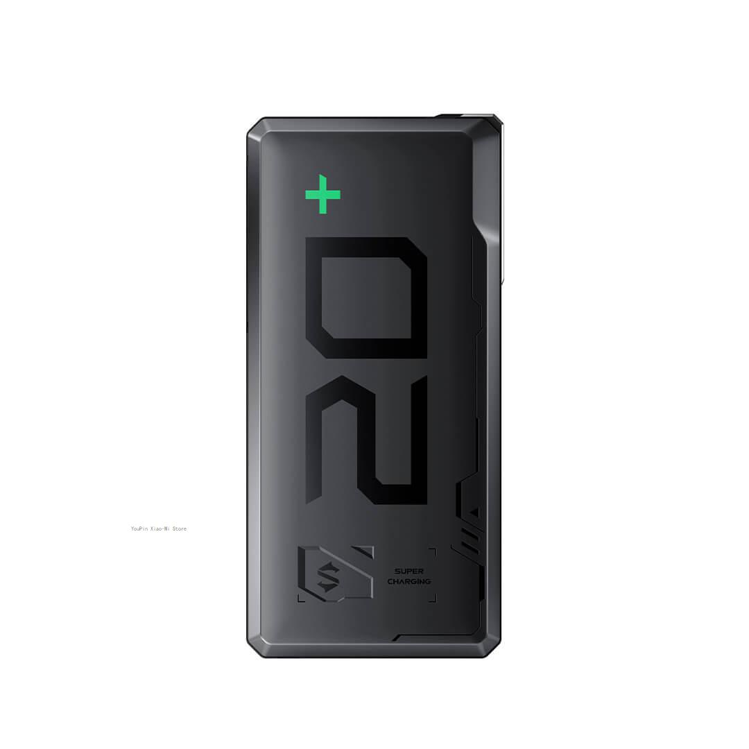 شاومي MI BlackShark باور بانك 20000mAh بطارية خارجية بنك 18 واط شحن سريع مع ثلاثة مخرج USB للشحن السريع أبل