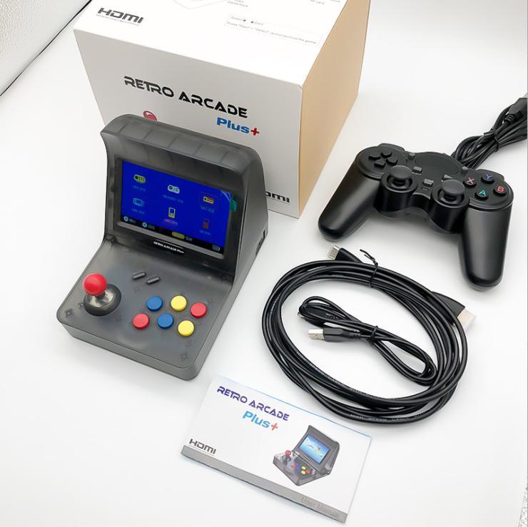 Nuevo HDMI recreativos Retro Plus Consola de juego Doble Joystick con juego...