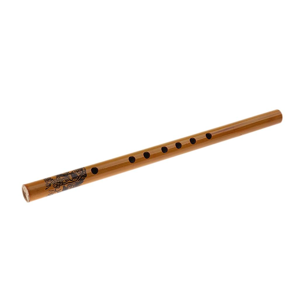 33cm/12.99 polegada melhor flauta de bambu chinesa xiao dizi woodwind tradicional instrumento musical chinês