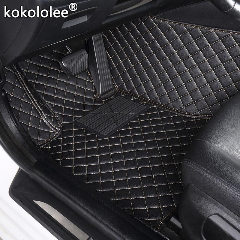 custom car floor mats for peugeot RCZ 307 sw 308 607 206 207 301 407 308 408 508 2008 4008 5008 3008 car mats auto accessories