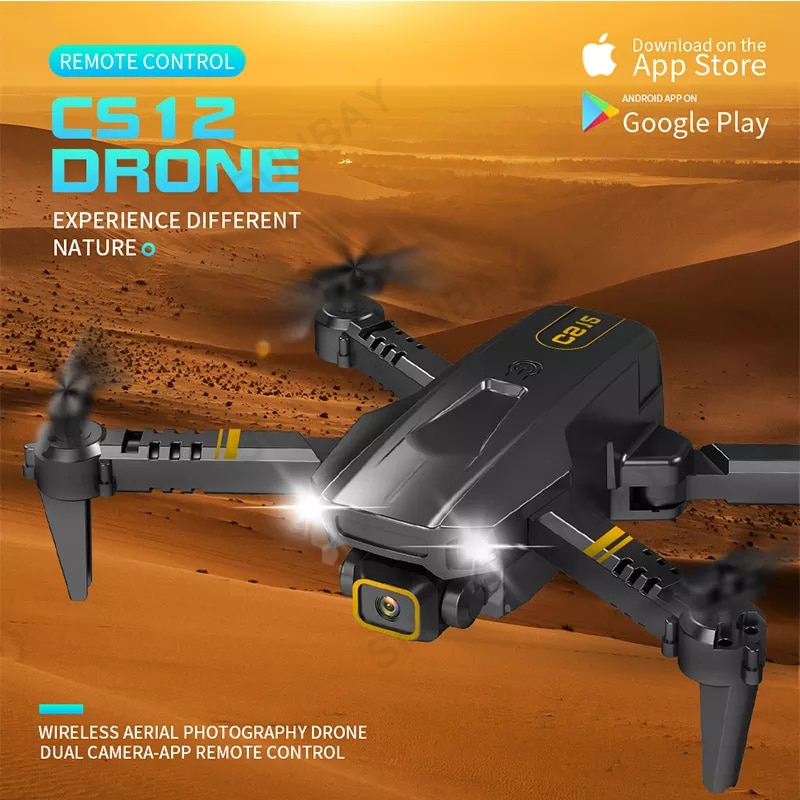 Rc 4k Professional HD Mini Drone, Dual Fpv Camera with Hd 4k Rc Camera, Helicopter, Quadcopter Toys enlarge