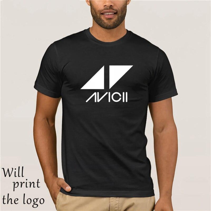 2018 nueva camiseta AVICII de moda no ME despertes de la casa de baile DJ música de la casa T MEN camiseta casual Hombre