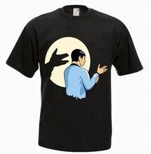 Spok Star T-shirt drôle personnalité des hommes T-shirt personnalisé de haute qualité t-shirts à col rond à manches courtes