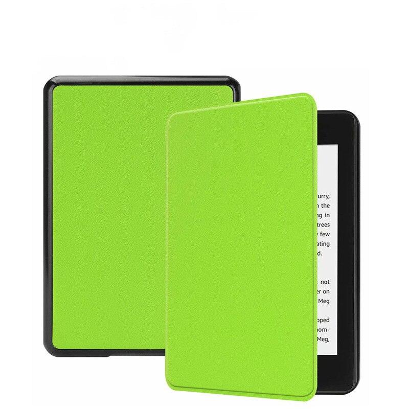 2019 nuevo Kindle Paperwhite cubierta Kindle cubierta caso Funda Amazon Kindle Paperwhite cubierta 10th generación impermeable Flip Book Shell