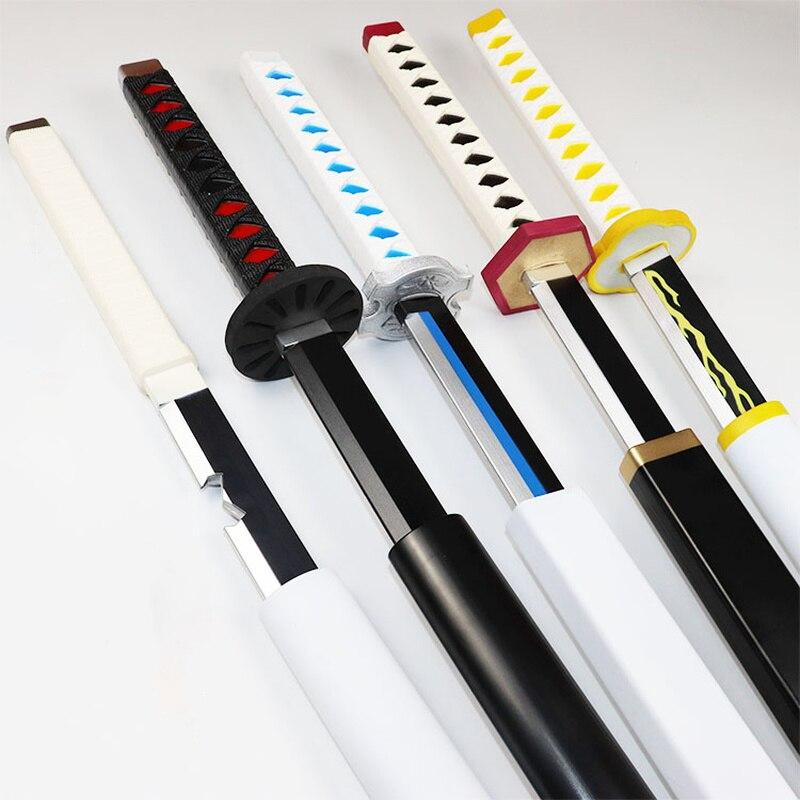 Новый 1:1 нож из искусственной кожи меч оружие демон убийца лезвие дьявола Косплей самурайский меч ниндзя катана реквизит игрушки для подростков
