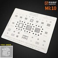 Трафарет Amaoe BGA для реболлинга для REDMI K20 K20Pro, XIAOMI 9, Qualcomm Snapdragon 730, sm7150, 855, SM8150, чип процессора, BGA, Оловянная сетка для растений