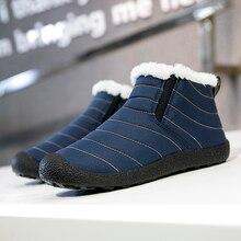 Nine o'clock Classic High-top Men Plush Shoes Fashion Anti-skid  Slip-on Couple Footwear Winter Warm