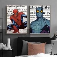 Peinture sur toile Marvel Avengers Moive  affiches et imprimes de super-heros  Graffiti  decor mural  decoration de tableau dart mural  decoration de maison