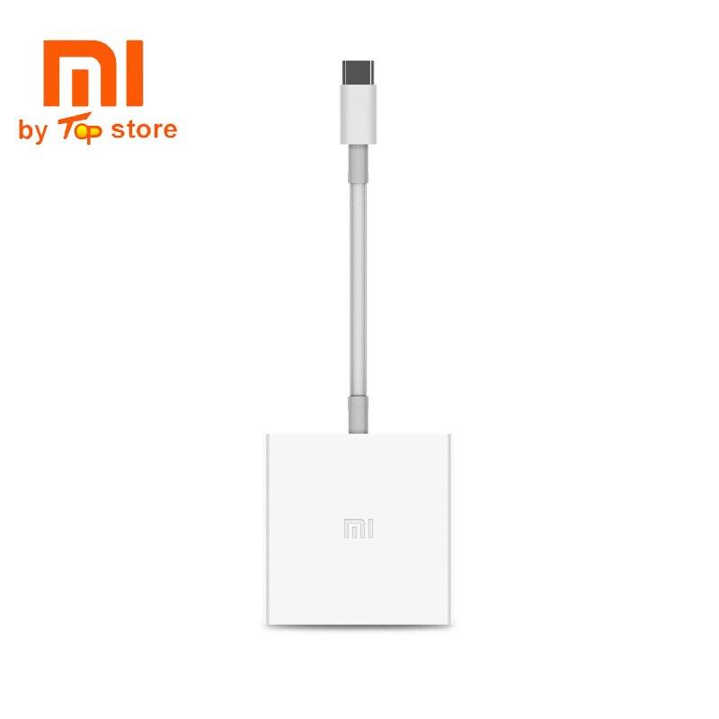 Xiaomi gran oferta USB-C a HDMI conversor multifuncional 4K HD salida USB 3,0 transmisión de alta velocidad USB-C PD2.0 inteligente