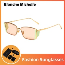 2021 Fashion Sunglasses Women UV400 Rectangle Retro Sun Glasses Designer Vintage Sunglass Ladies Sha