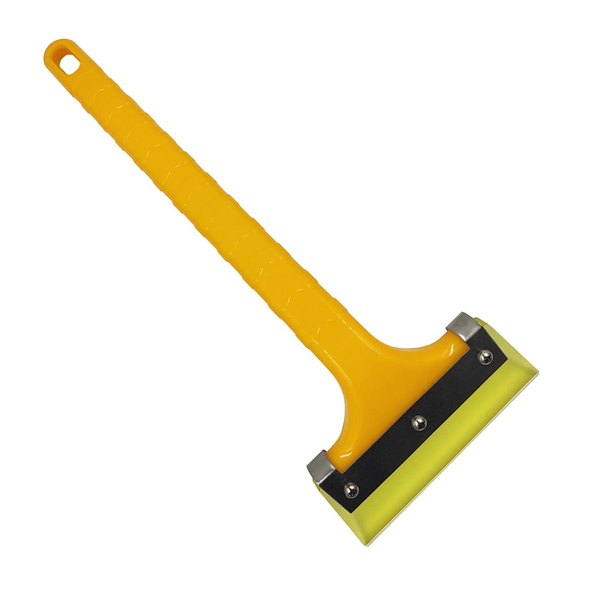 Rascador de hielo multifuncional para exteriores, herramienta de pala de nieve para coche, rascador de nieve para invierno, cepillo para ventana, parabrisas B43